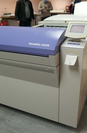 Pre-press  Used pre-press machines used screen platerite ptr4300 ctp system for sale