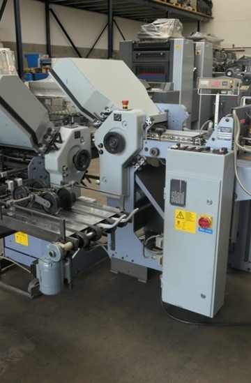 Folders  Used finishing machines Stahl T36 Pharmaceutical paper folding machine for sale in UK