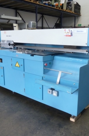 Perfect Binders  Used finishing machines Sulby MK3 single clamp perfect binder - Sheridan MK3