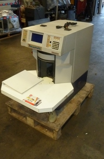 Others  Used other machines Used Vaccumatic Vicount 2 paper counter