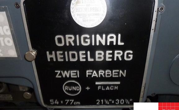 die cutter - Heidelberg SBZ Cylinder