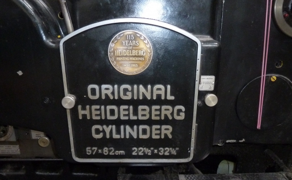 HEIDELBERG SBB-S CYLINDER
