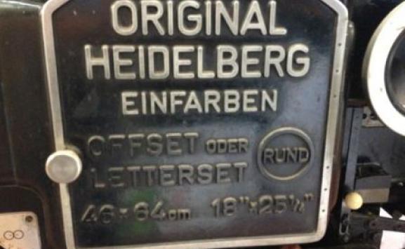 USED HEIDELBERG KORD