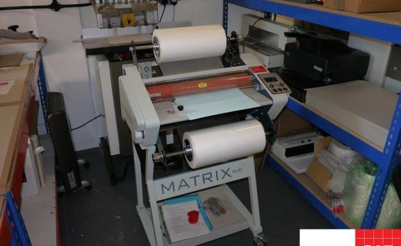 matrix duo 460 roll laminator