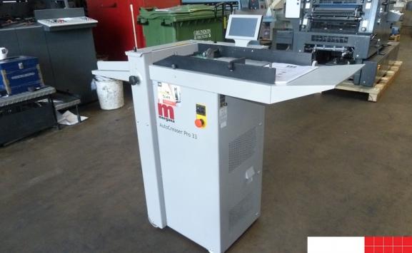 morgana autocreaser pro-33 - card creasing machine