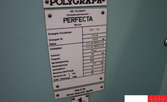 PERFECTA SEYPA 132 PAPER CUTTER