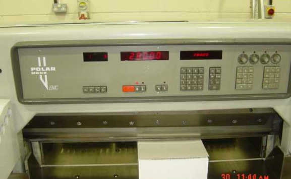 POLAR 92 EMC USED GUILLOTINES