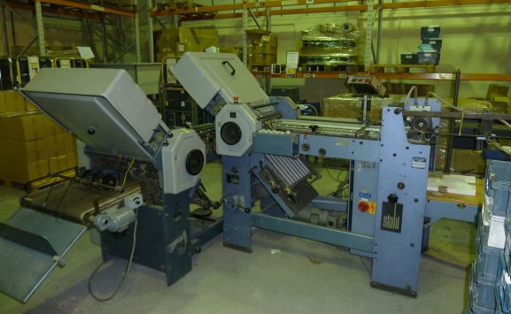 STAHL T 49 4-4 FOLDING MACHINE