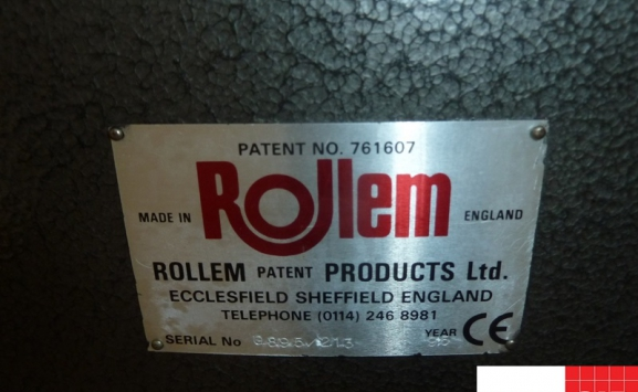 ROLLEM 890 PERFORATING & SLITTING MACHINE