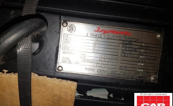 USED MAIN MOTOR FOR KOMORI 528/628