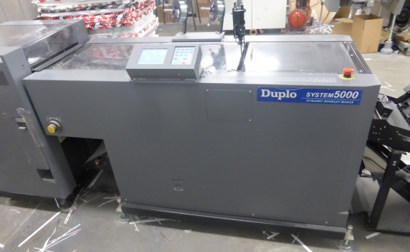 2005 DUPLO SYSTEM 5000 BOOKLET MAKER