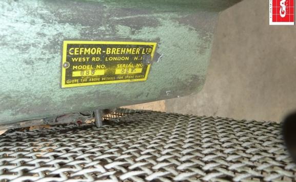 BREHMER CEFMOR 685 WIRE STITCHER