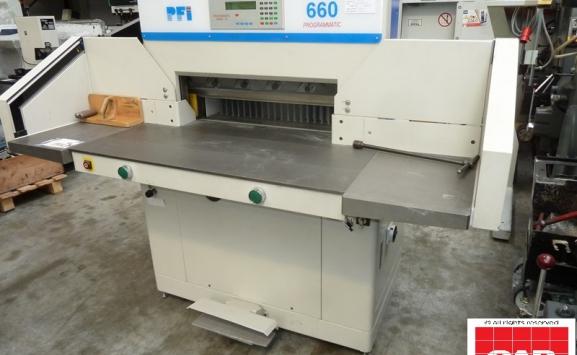 duplo pfi 660 paper cutter