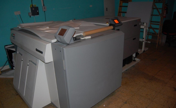 FUJI V-6000 LUXEL CTP SYSTEM