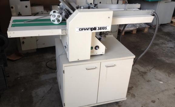 USED GRAFIPLI 3810 S FOLDING MACHINE