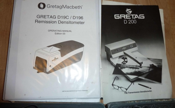 GRETAG DC 19 C DENSITOMETER