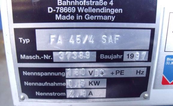 GUK SAF 45-4 FOLDING MACHINE