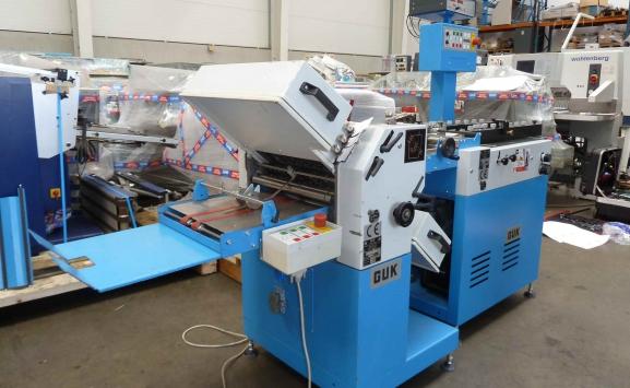 GUK FA 36/4 PAPER FOLDING MACHINE