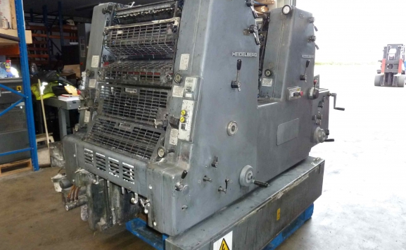 USED HEIDELBERG GTO 52 Z 2 COLOUR OFFSET