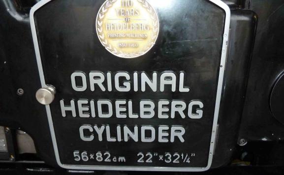 HEIDELBERG SBB CYLIBDER FOR SALE