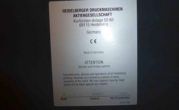 HEIDELBERG SM 52-2 OFFSET