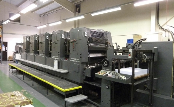 HEIDELBERG SM 72 F 5 COLOUR OFFSET