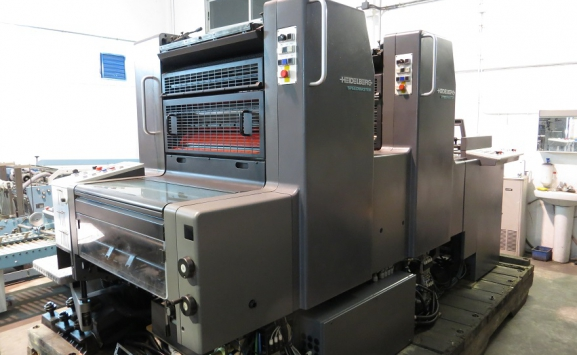HEIDELBERG SM74-2 TWO COLOUR OFFSET