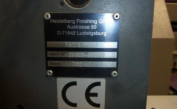 HEIDELBERG STAHL TI 52-4 FOLDER