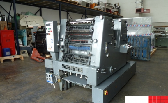 heidelberg gto z 52 two colour for sale