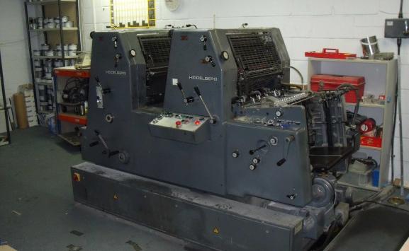 HEIDELBERG GTO 52 ZP TWO COLOUR OFFSET