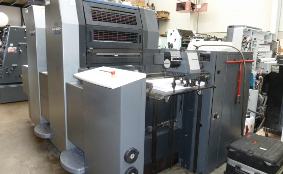 HEIDELBERG SM 52 2P TWO COLOUR OFFSET
