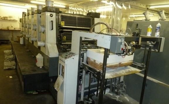 KOMORI L-528 ESA OFFSET