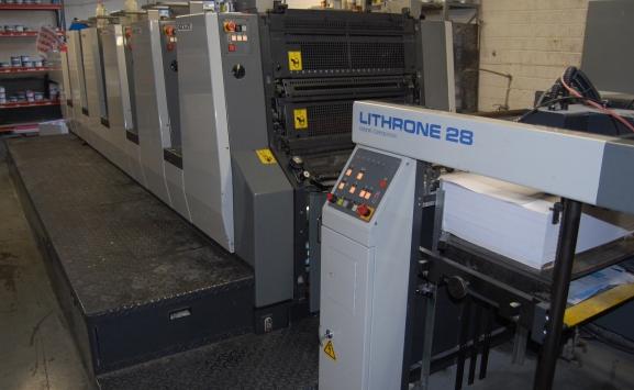 KOMORI LITHRONE NL-528 EM OFFSET