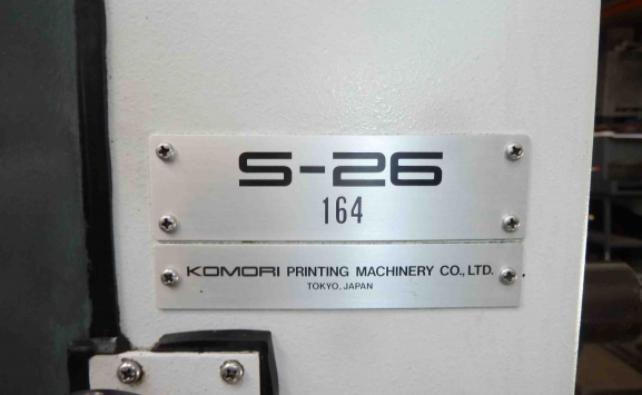 KOMORI OFFSET SPRINT S-26