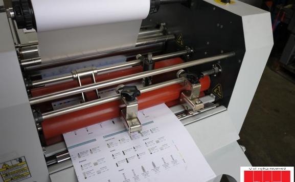 matrix 530 single sided thermal laminator