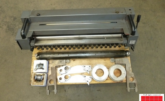 Numbering and Perforating Unit for PM/GTO 52 offsets