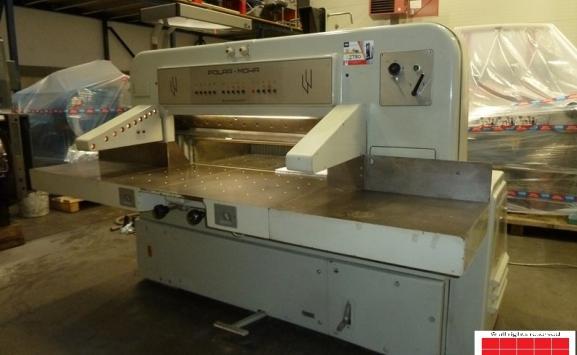 polar 115 ce paper cutting guillotine