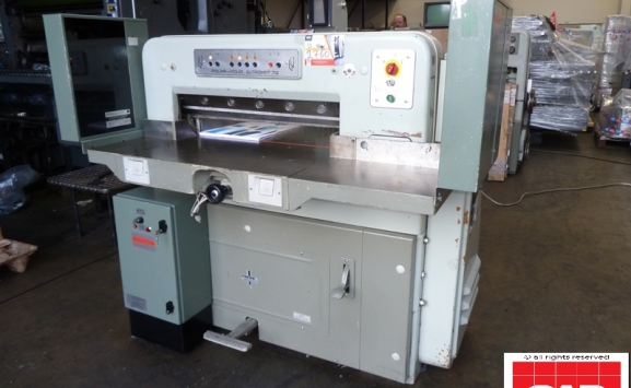 used polar 72 ce paper cutter
