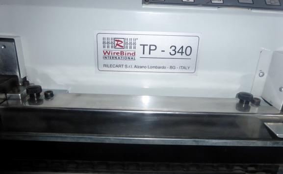 RILECART TP340 WIRE O BINDING