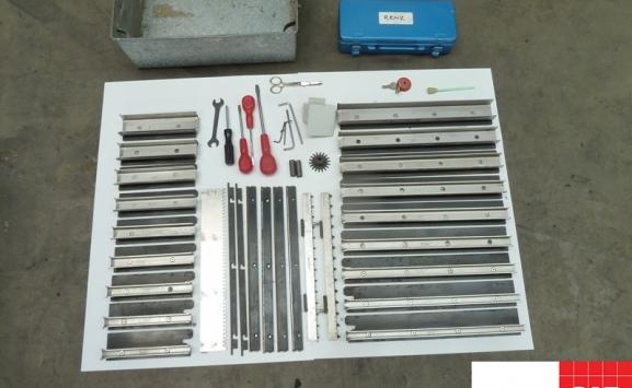 Renz RSB 360 wiro-o-binder for sale