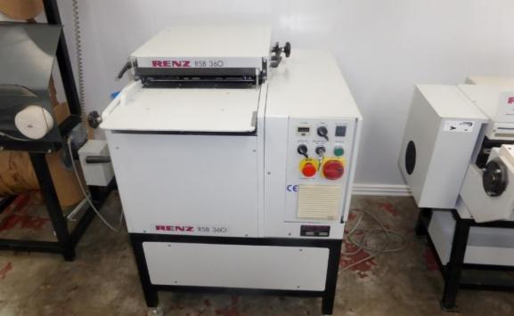 RENZ RSB 360 WIRO BOOK BINDING MACHINE
