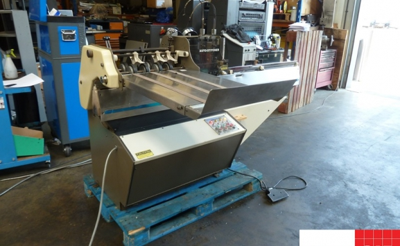 camco rosback 203r semi-automatic saddle stitcher