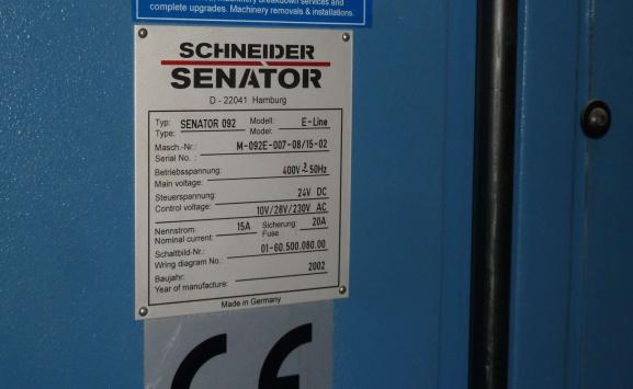 SCHNEIDER 92 E-LINE GUILLOTINE