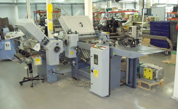 STAHL TI 52 4-4 PAPER FOLDING MACHINE