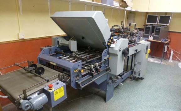 STAHL T524X USED PAPER FOLDER