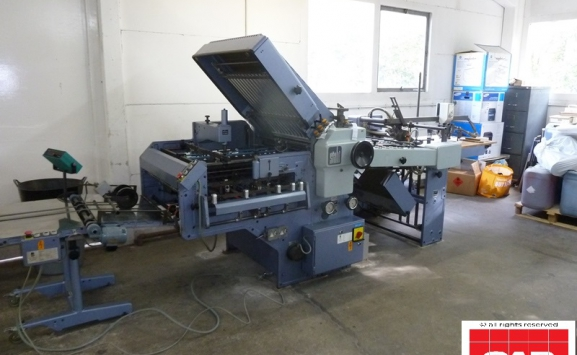 used stahl k66 4ktl paper folding machine