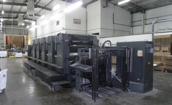 USED HEIDELBERG SM102FP OFFSET-5 COLOURS