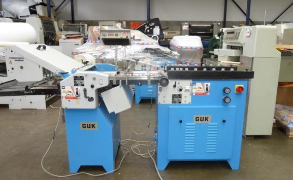 GUK SAF 46-2 PAPER FOLDING MACHINE