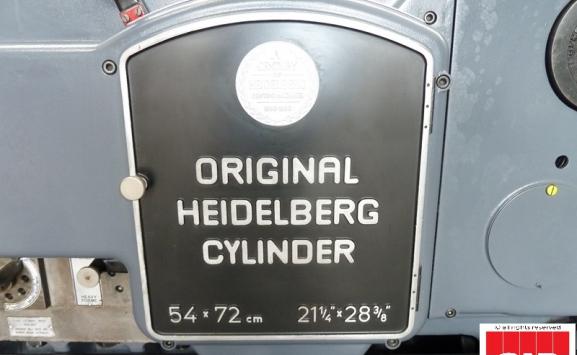 Heidelberg S Cylinder Die Cutter