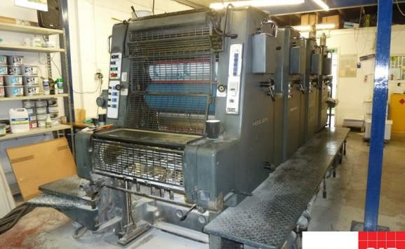 used heidelberg movp 4 color offset
